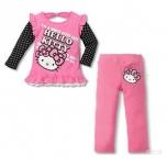 """Pluus ja püksid """"Hello Kitty"""""""
